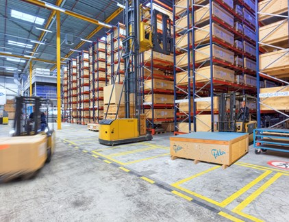 Hoofddorp-Warehouse-Structural-Parts-Storage
